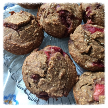 Strawbana Hemp Blender Muffins, More Life