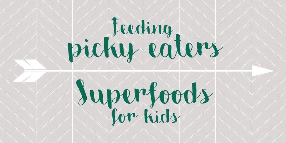 Top 10 super foods for kids