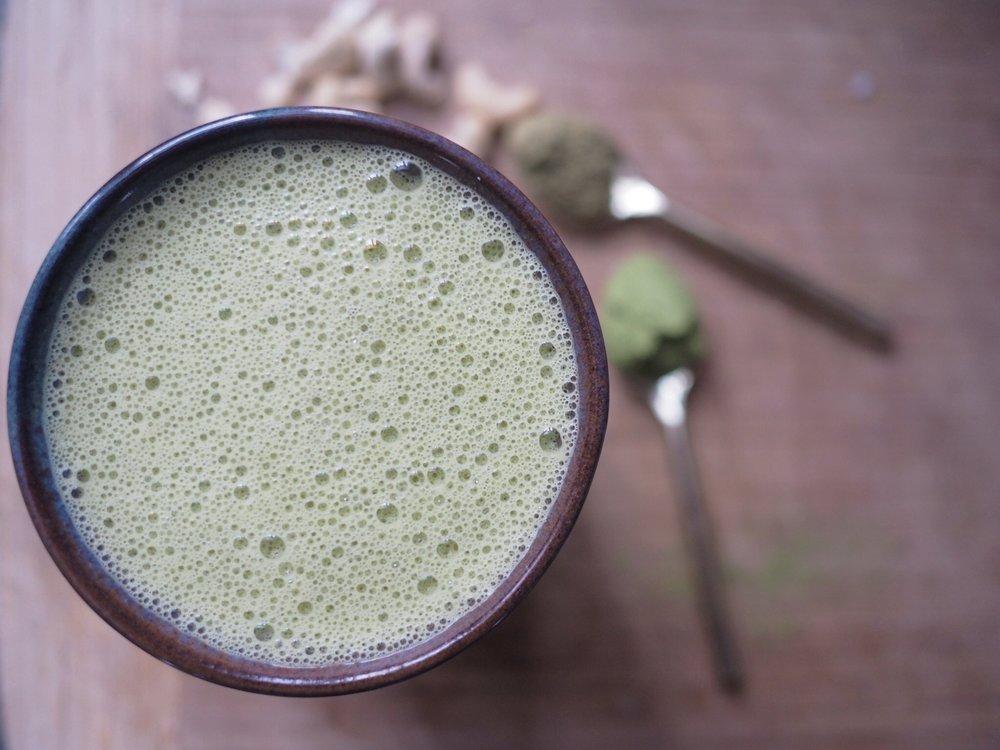 matcha moringa elixir