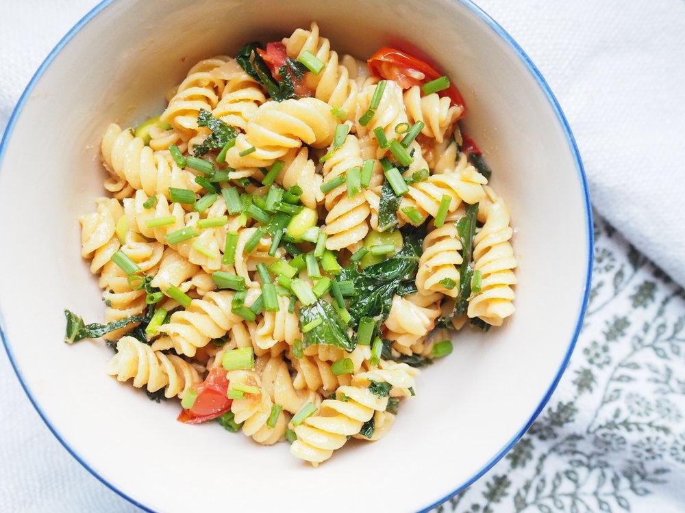 Garden Chickpea Pasta More Life