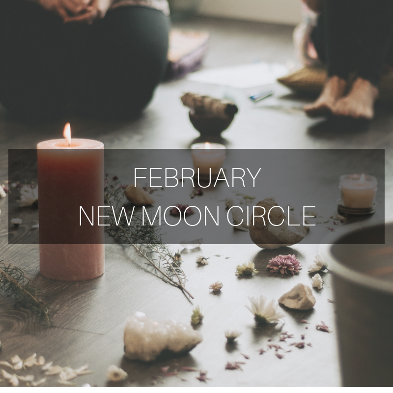 FEBRUARY NEW MOON CIRCLE More Life Moon Well