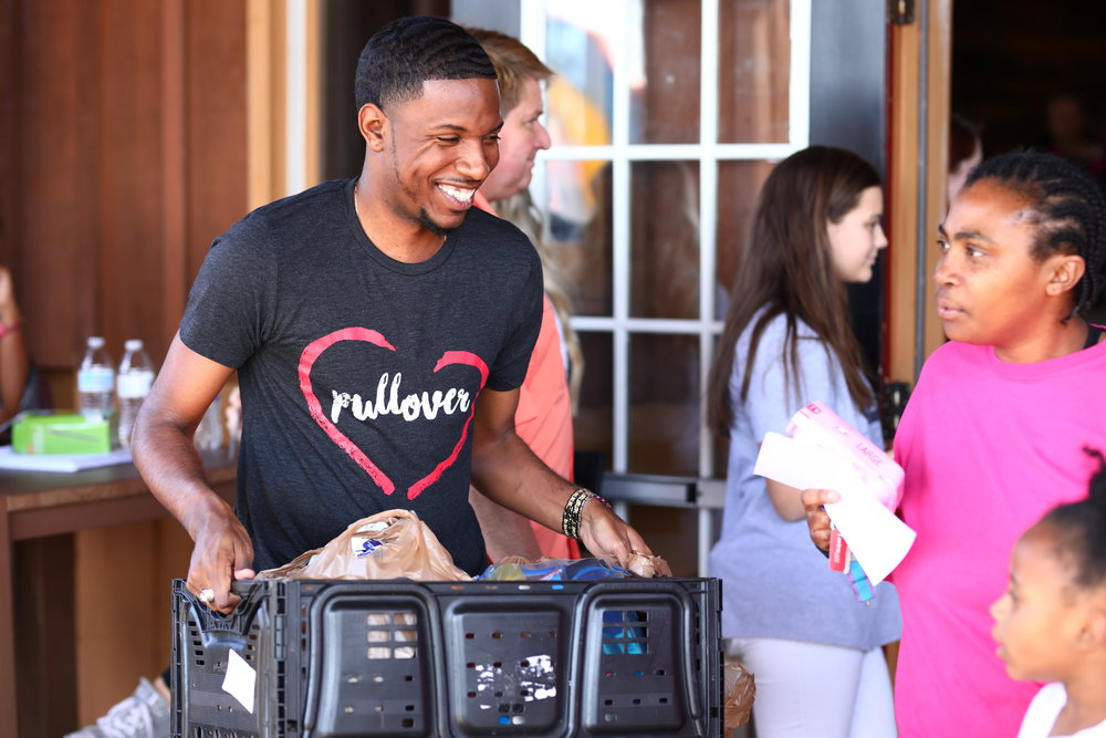 WE LOVE OUR CITY!  - Pullover is our city outreach ministry With the mission to put on love with no strings attached, it is our heart to serve our community and bring hope to those who need it. We'd love to have you serve with us!