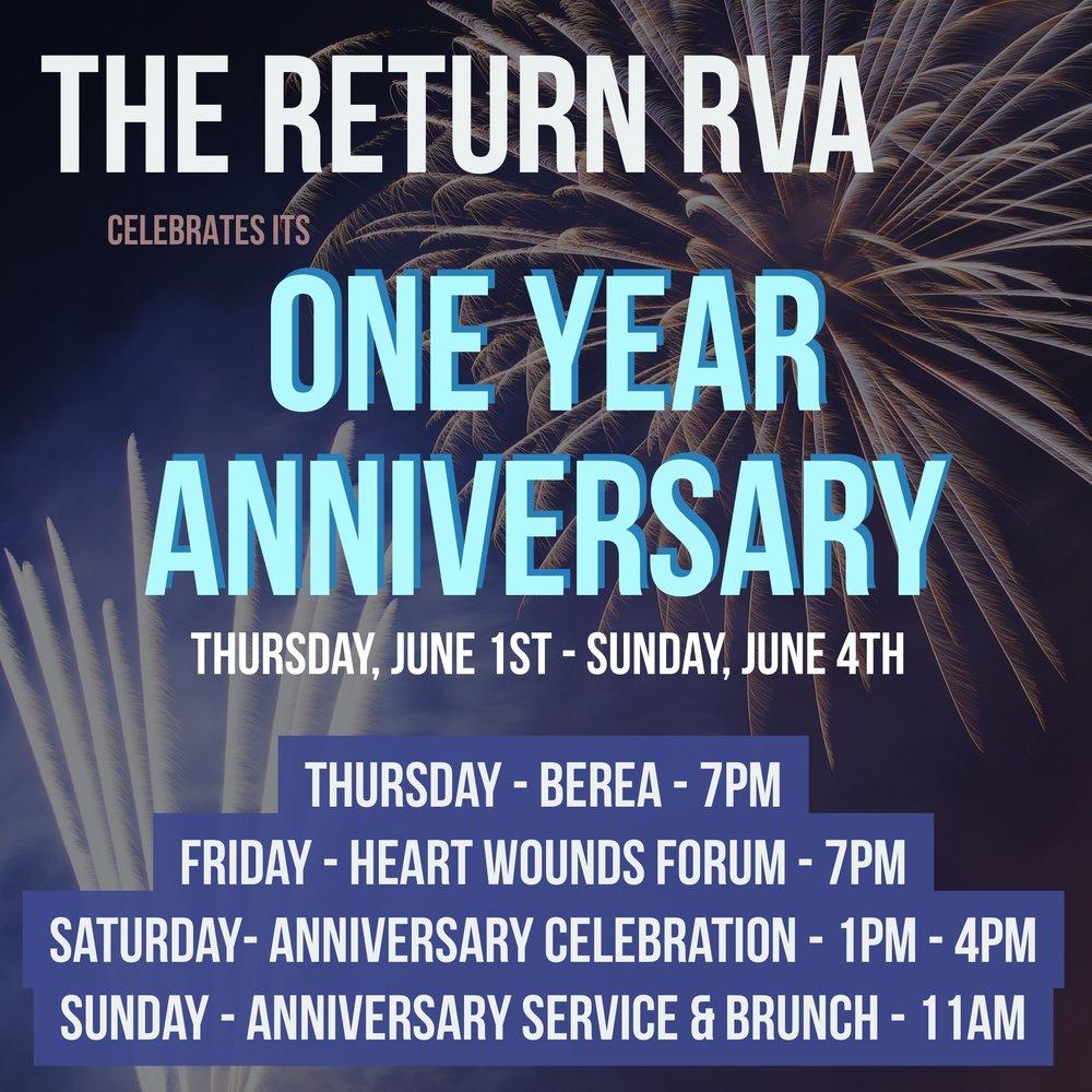 Anniversary Week Celebrations
