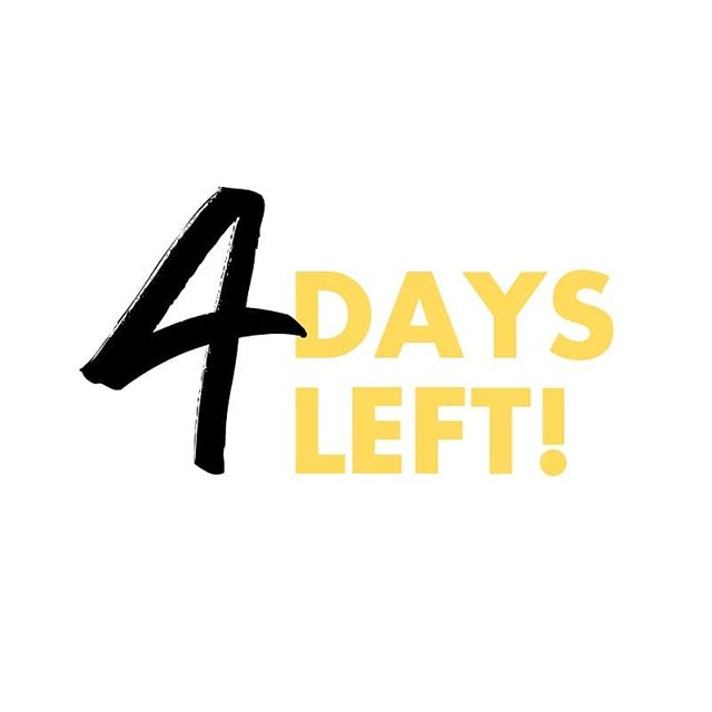 The final countdown!! Only FOUR MORE days to get an @abovethebottomline sticker, enamel pin or mug in exchange for your support. Link in bio for more information. 🙌🏾