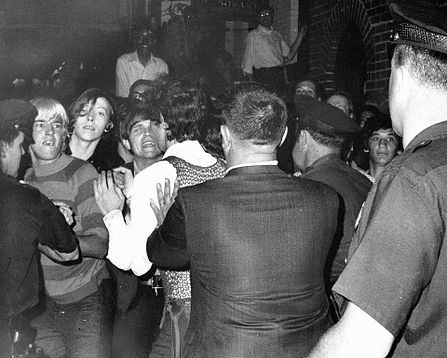 Image from Stonewall Riots   Image |  Joseph Ambrosini  of the  New York Daily News