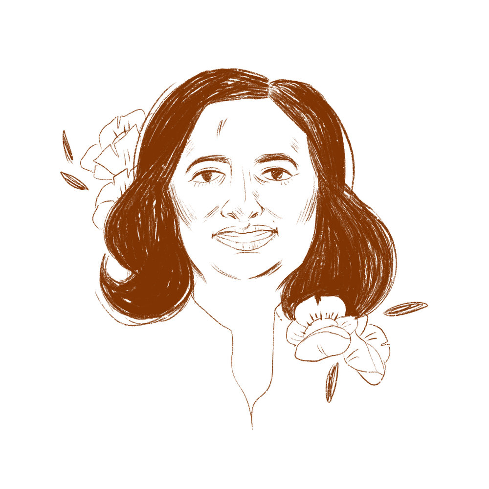 Farhana Khera , Illustration /  Grace Stamps
