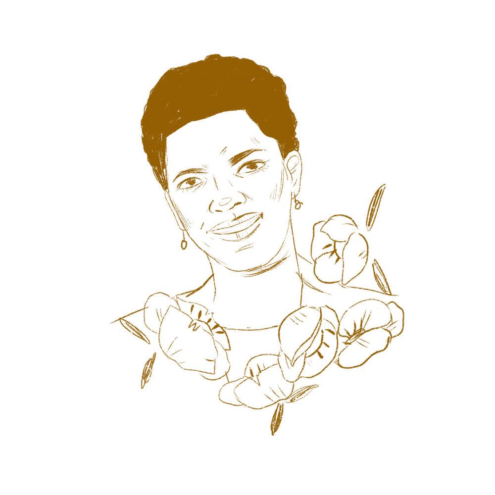 Michelle Alexander , Illustration /  Grace Stamps