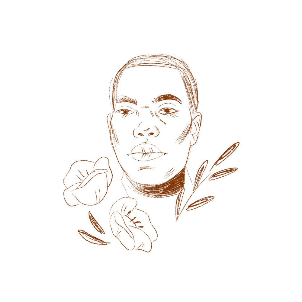 Ta-Nehisi Coates ,Illustration /  Grace Stamps