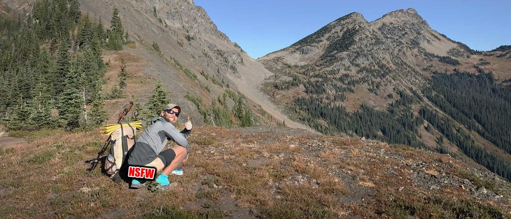 Learn to poop in the backcountry like genuine hiker trash.