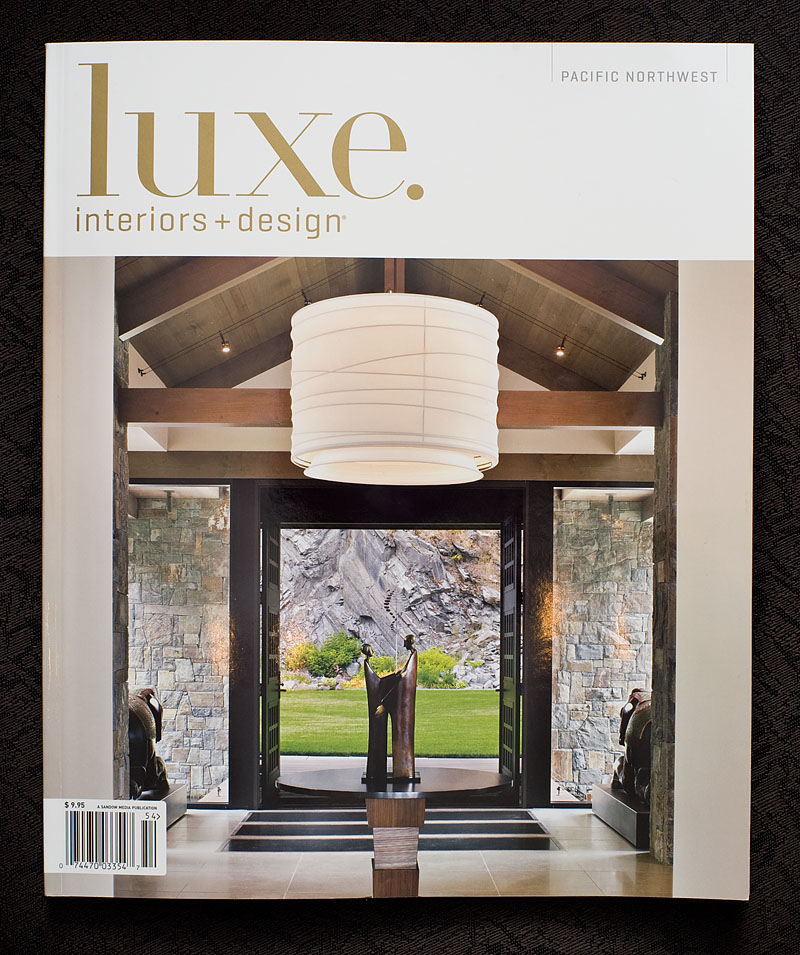 ive got a nice photo spread in the new fall 2010 issue of the northwest edition of luxe interiors design magazine - Luxe Interiors And Design Magazine