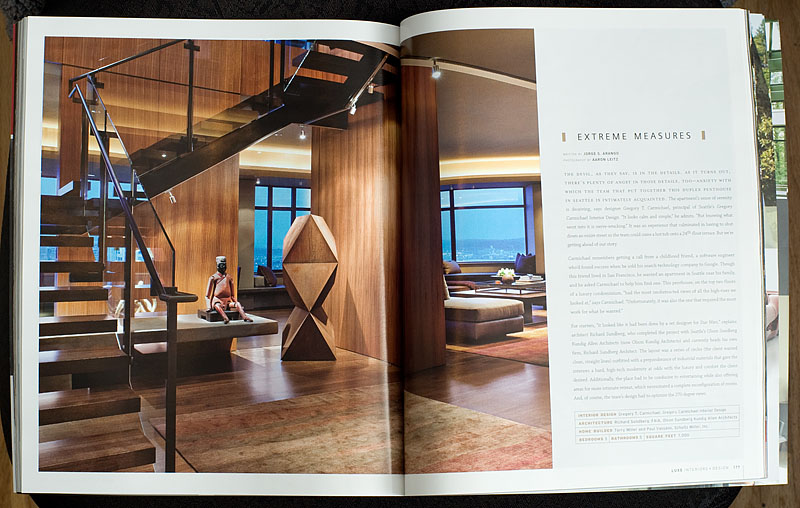 The Fall 2010 Issue Of LUXE Interiors Design Magazine AARON