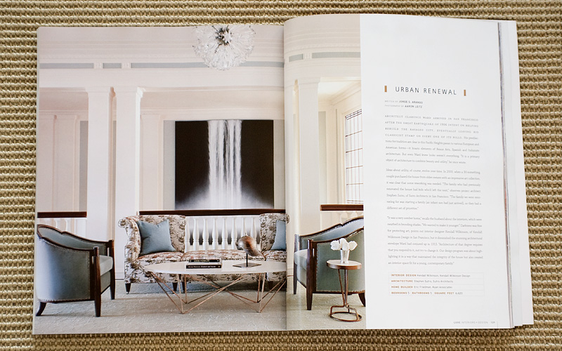 Issue Of Luxe Interiors Design Magazine This