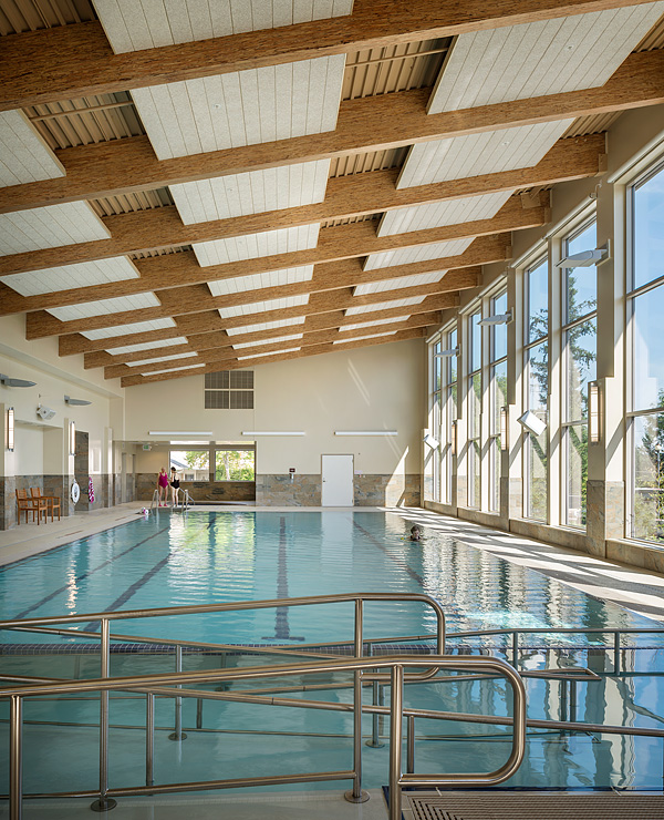 Fitness Center Pool by Rice Fergus Miller Architects