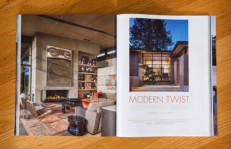 luxe interiors + design spring 2013 issue — aaron leitz