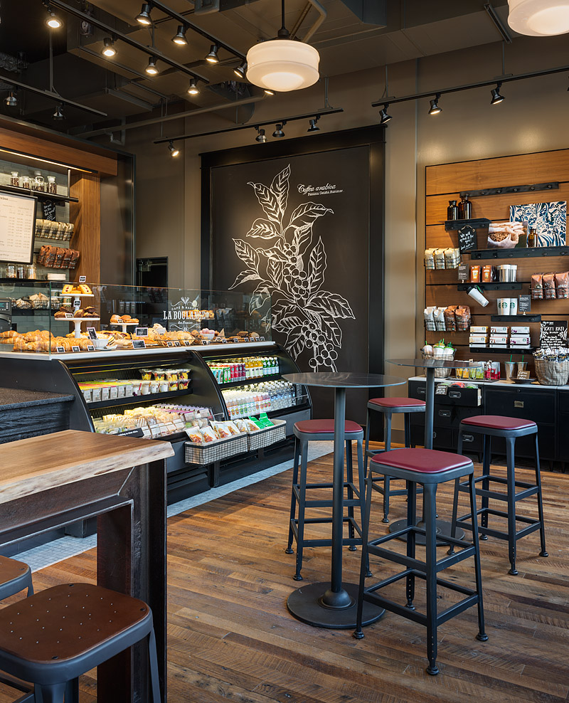 Broadway u0026 Pike Starbucks u2014 AARON LEITZ PHOTOGRAPHY - Seattle Architectural and Interior Design ...