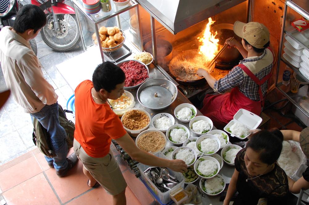 Bun Bo in Hanoi