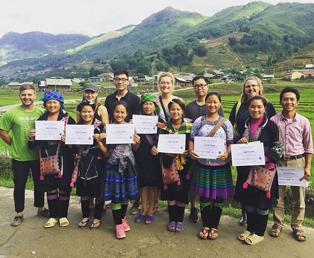 That's a wrap! Yesterday we completed the 2016 FAM trip in Lao Chai. Thank you to everyone who participated in the trip's preparation and delivery! And a big thank you to the homestay owners for all of their hard work - it was a true team effort!