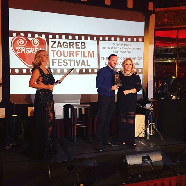 Massive congrats to @k_sandilands who, just hours ago, won Best Film - People Culture and Tradition at the Zagreb Tourfilm Festival in #Croatia for his film Black Hmong of Lao Chai Village.  To view the film, follow the link in bio.  #zagreb #zagrebtourfilmfestival #capilnaou #mopa #film #tourism #vietnam #hmong #congrats