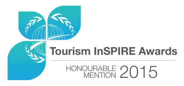 The  UNEP and RPSC's Tourism InSPIRE Awards  are given to organizations and initiatives that exemplify use and application of sustainable consumption approaches: resource efficiency, value chain approach, eco-innovation, sustainable consumption, sustainability reporting, community action, cultural heritage, and collective impact.