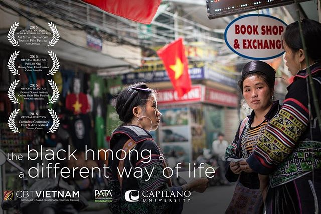 "The OFFICIAL ONLINE RELEASE of our award winning mini-documentary ""Black Hmong - A different way of life"" is tomorrow!  Stay tuned.  #film #travel #vietnam #hmong"