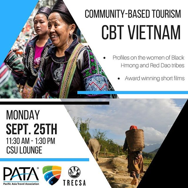 On Monday, September 25th from 11:30AM- 1:30PM, volunteer @semjansen is teaching students at the CSU about the positive impacts of the Community Based Tourism Project in Taphin and Lao Chai. One of the few sustainably focused events occurring at Capilano University to celebrate World Tourism Week! #wtd2017 #travelenjoyrespect #IY2017 #SDGs