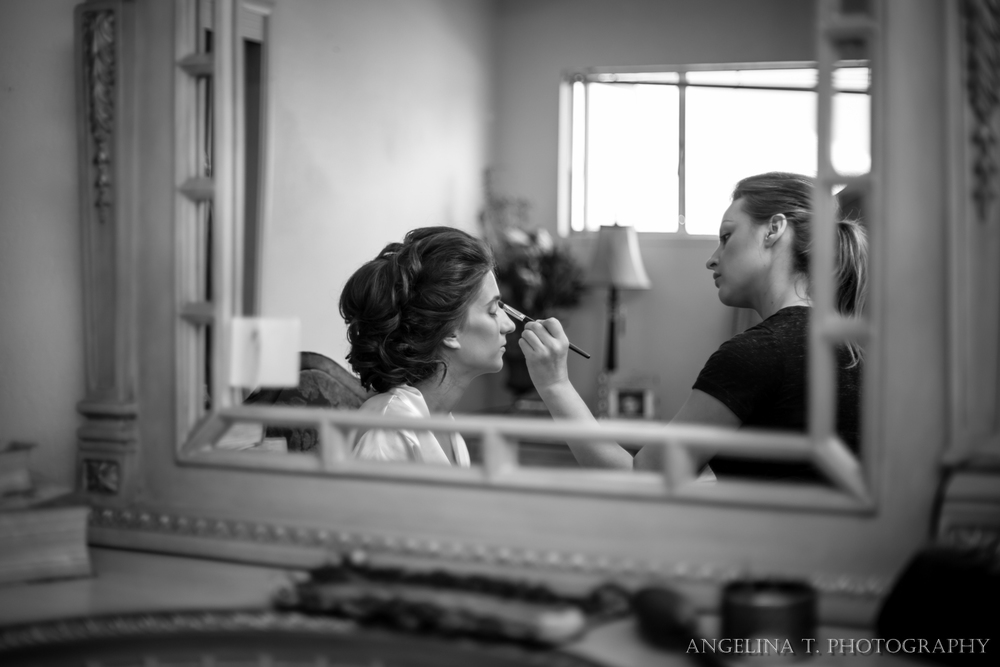 sacramento wedding photographer bride getting ready