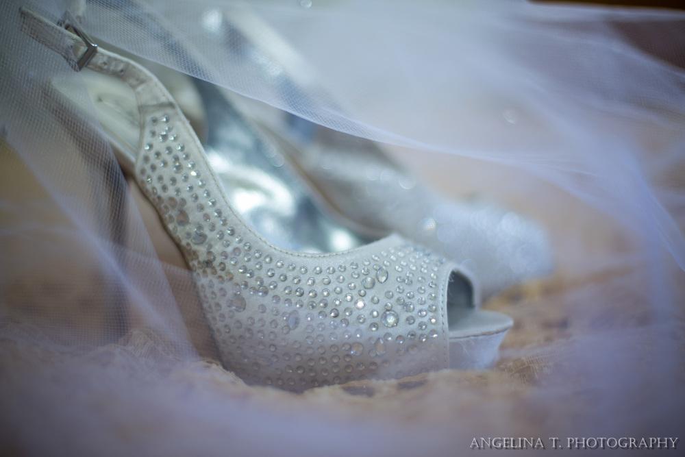 sacramento wedding photographer bridal details shoes