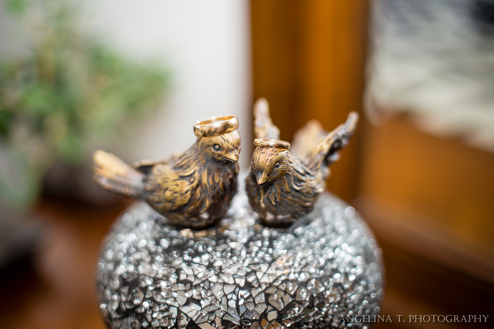 northern california wedding photographer wedding details rings on doves
