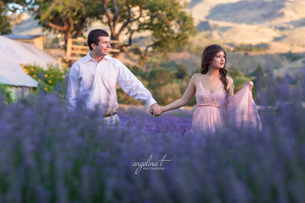 Lavender Field Engagement Photography-07.jpg