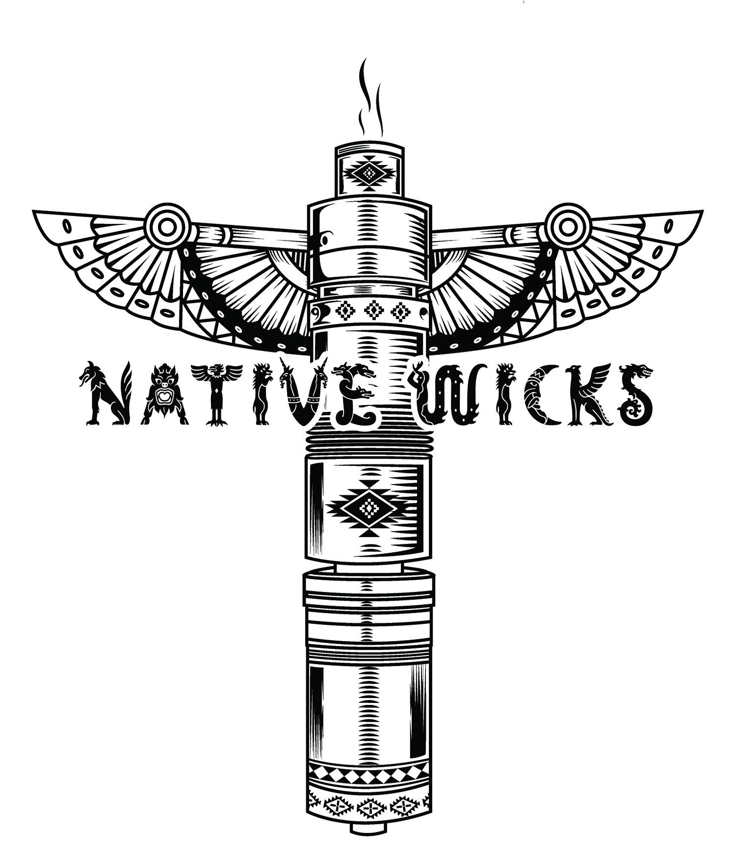 Native Wicks Cotton