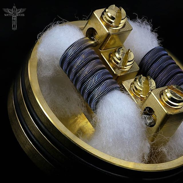 Happy Friday! @nativewicks.cotton #PlatinumBlend #worldsbestcotton  Via @kingsohm _________________________________________ Check the family:👇 @trinityglasshardware @nativewicks.cotton @270wirez @recoilrda  TEAM @coilgoons _________________________________________ #Kingsohm #coilbuilding #coilsmith #coilartists #vape #vapeporn #vapelife #driplifestyle #driplyfe #vapepics #subohm #dripclub #vapephotography #vapers #vapechicks #girlswhovape #vapelyfe #vapepic #dailyvapes