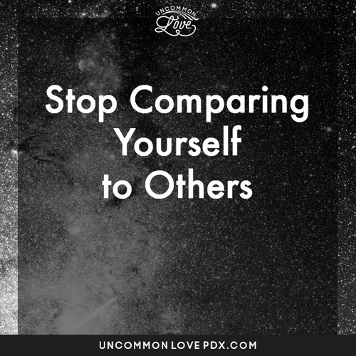 Stop comparing yourself to other partners uncommon love polyamory comparison uncommon love counseling for open relationships in portland solutioingenieria Choice Image