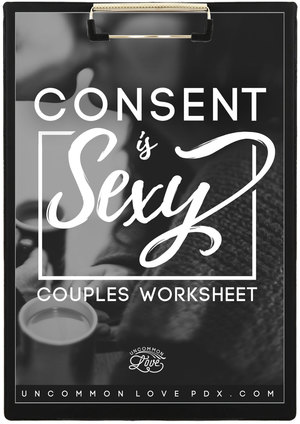 Consent Worksheet Boundaries Worksheet Couples Therapy Exercises
