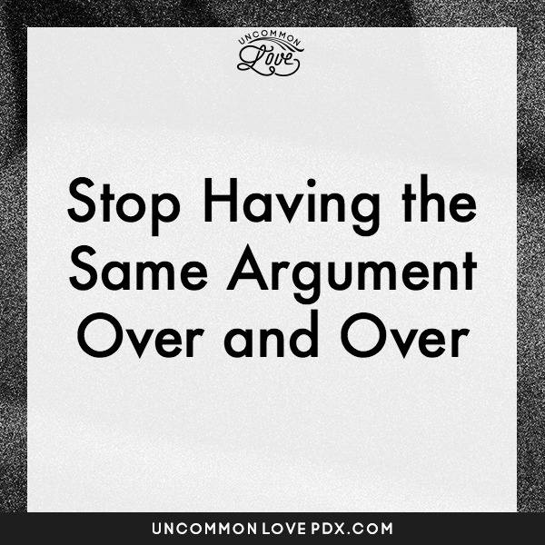 Stop Arguing With Your Partner
