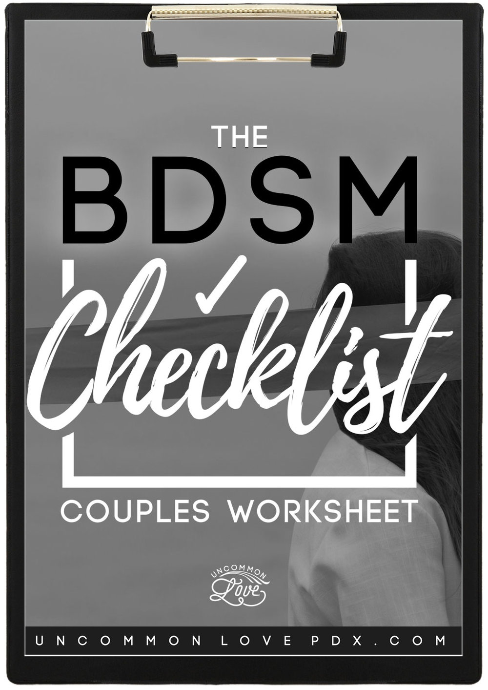 BDSM Checklist PDF Worksheet for BDSM Conversation
