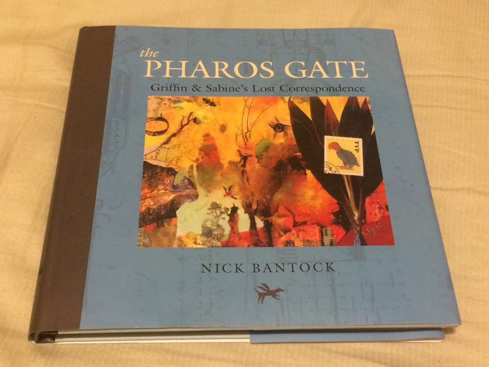 THE PHAROH'S GATE is the latest entry in the GRIFFIN & SABINE series by BC artist & author Nick Bantock...