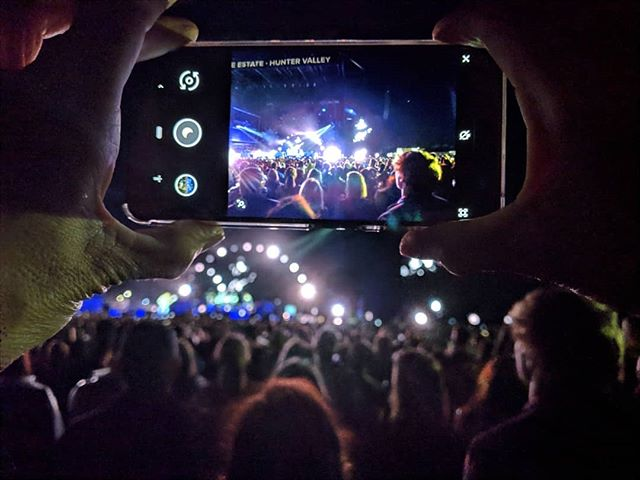 A big thank you to @googlepixel / @youtubemusic for the amazing experience seeing the @chilipeppers on Saturday with @saramaijewels  All these photos were taken with the incredible Night Sight function with the Google Pixel 3. I'm still blown away with what this camera can do! Night Sight is a game changer.  #sponsored #teampixel #pixelnofilter #nightsight