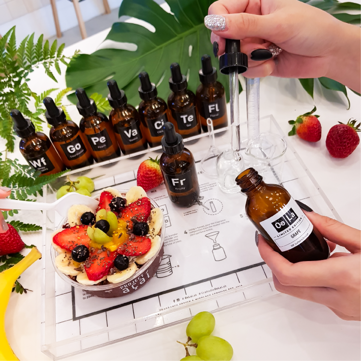 PA x Oola Lab - May 2018(Mother's Day Edition) Create your own custom fragrance and decorate Insta-worthy Acai Bowls. Held at PA VivoCity and PA East.