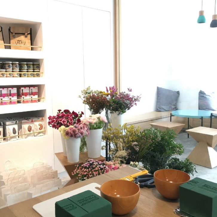 PA x Bloom Room - October 2017This workshop has ended.Floral arrangement workshop.