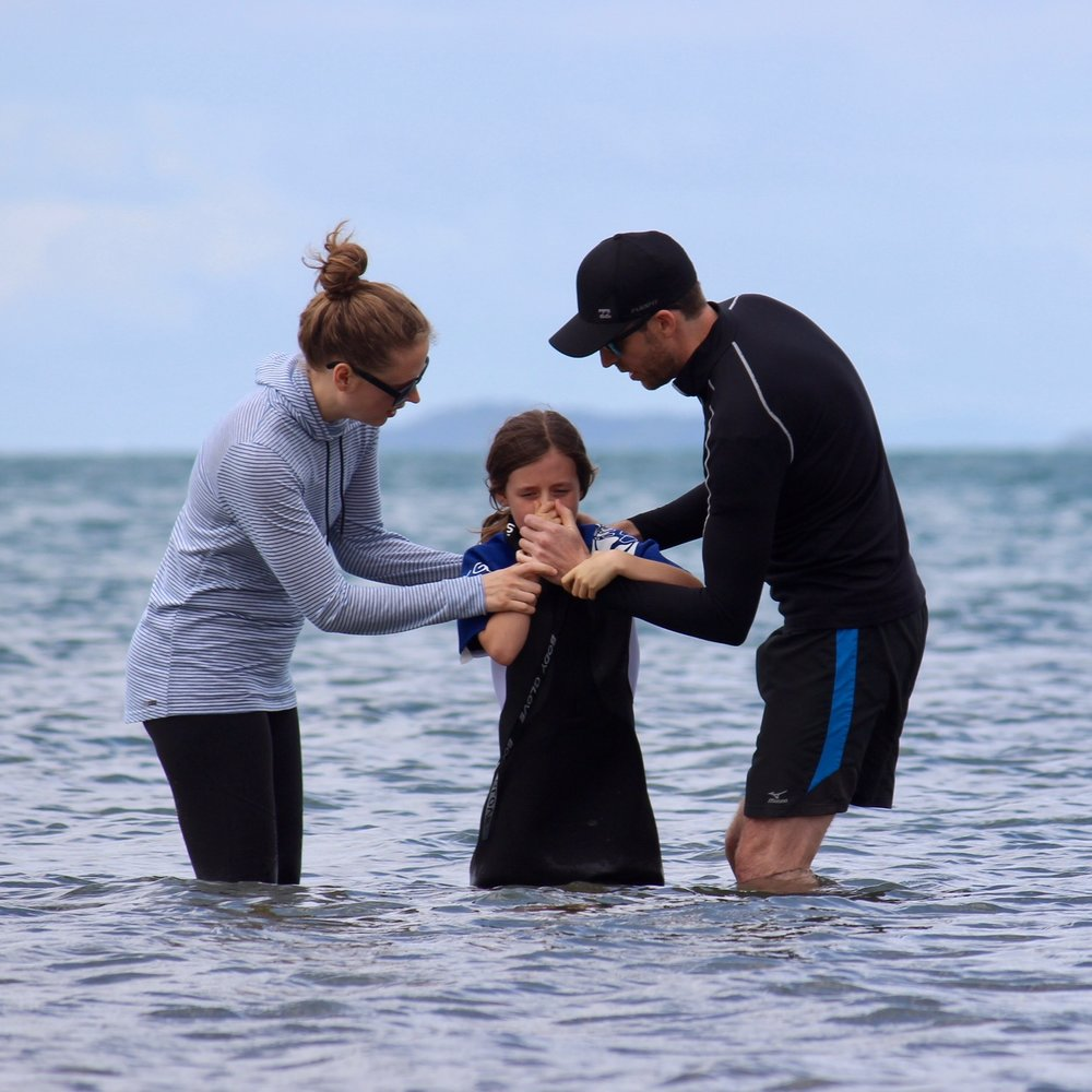 Lane's Baptism (Browns Bay, Auckland)