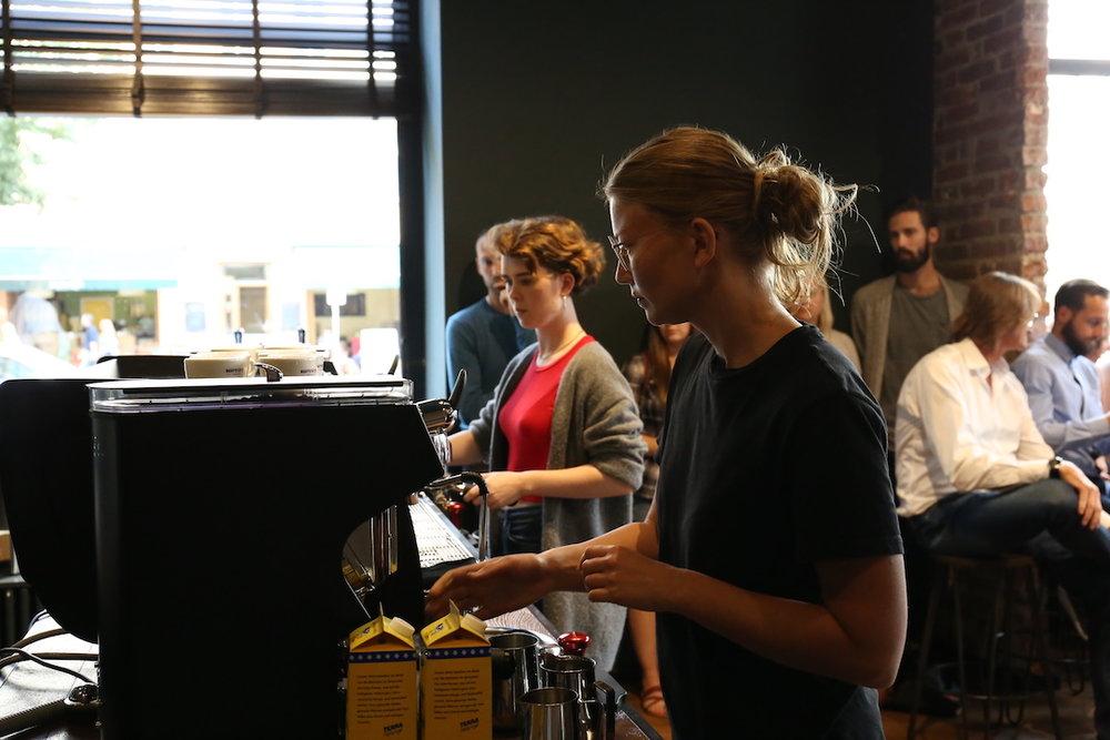 VA espresso machines Berlin Coffee Festival Victoria Arduino Women's Latte Art ThrowdownIMG_1639.JPG