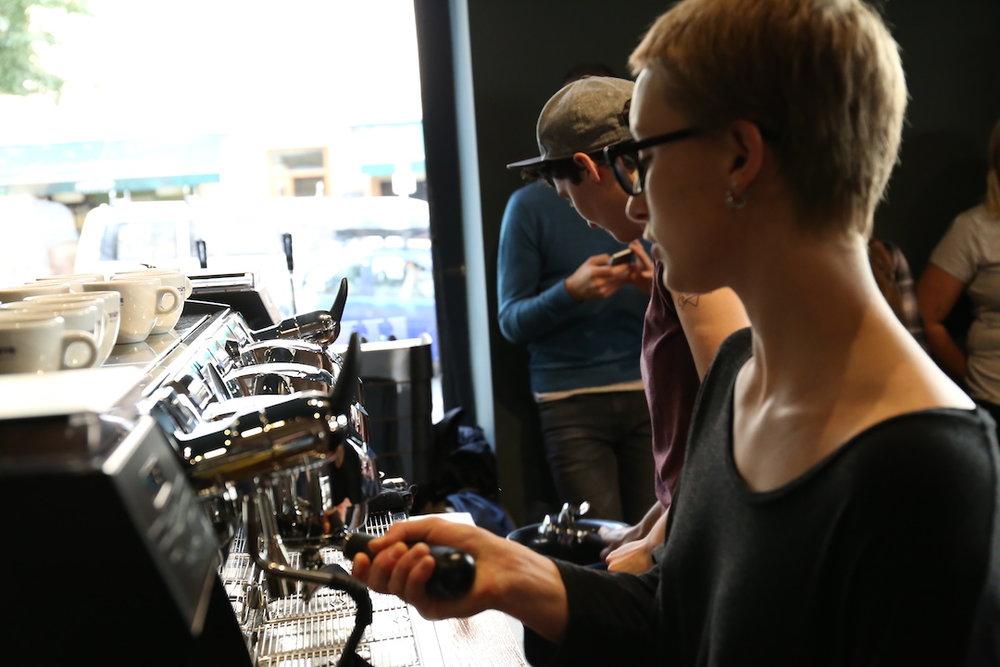 VA espresso machines Berlin Coffee Festival Victoria Arduino Women's Latte Art ThrowdownIMG_1741.JPG