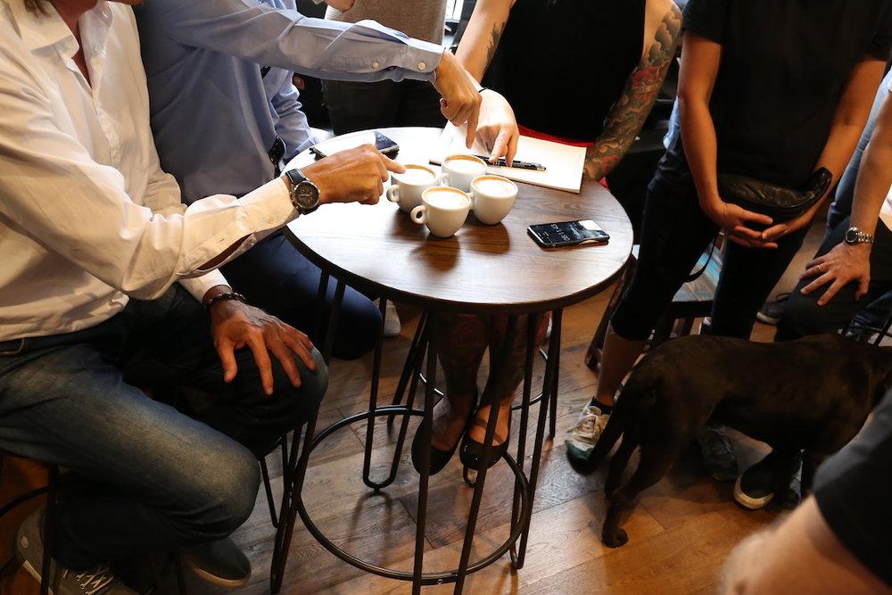 VA espresso machines Berlin Coffee Festival Victoria Arduino Women's Latte Art ThrowdownIMG_1796.JPG