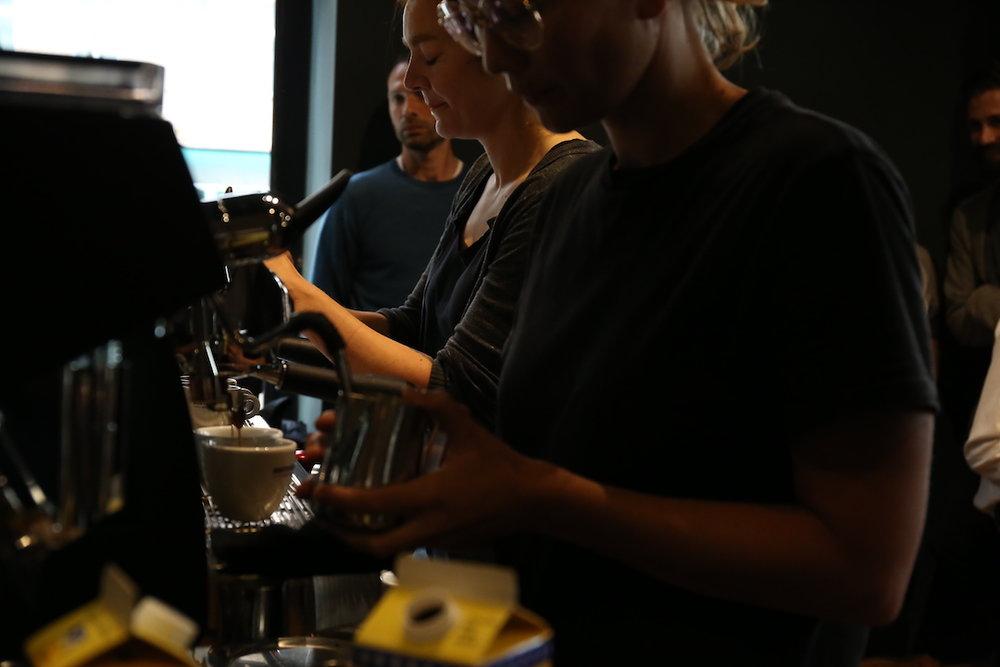 VA espresso machines Berlin Coffee Festival Victoria Arduino Women's Latte Art ThrowdownIMG_2090.JPG