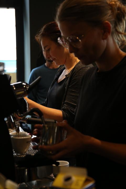 VA espresso machines Berlin Coffee Festival Victoria Arduino Women's Latte Art ThrowdownIMG_2091.JPG