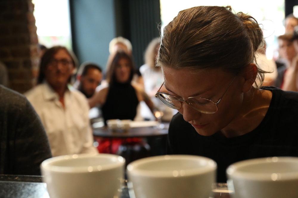 VA espresso machines Berlin Coffee Festival Victoria Arduino Women's Latte Art ThrowdownIMG_2114.JPG