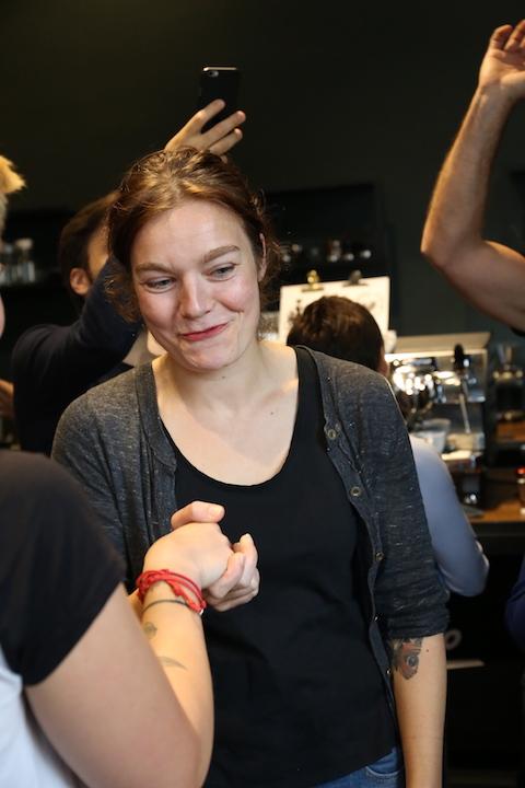 VA espresso machines Berlin Coffee Festival Victoria Arduino Women's Latte Art ThrowdownIMG_2328.JPG