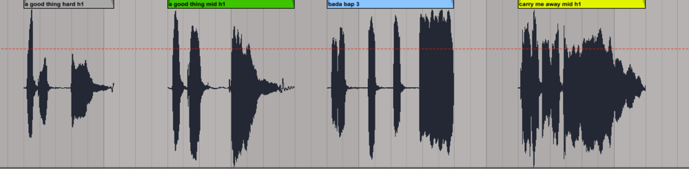 Example showing gaps in the dialogue due to editing
