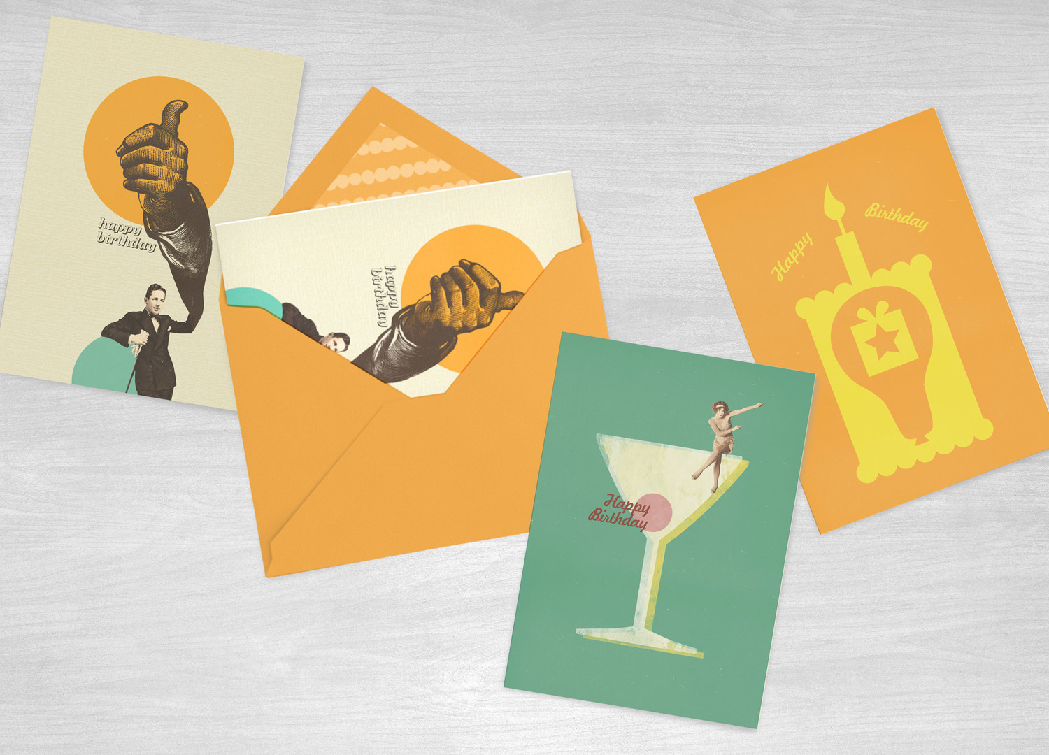 Various Greetings Cards Freelance Graphic Designer Manchester