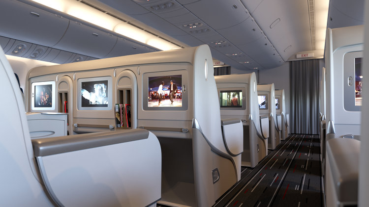 i personally find aircraft interiors extremely photogenic although the cabin is narrow its an absolutely interesting subject to portray - 3d Interior Modeling